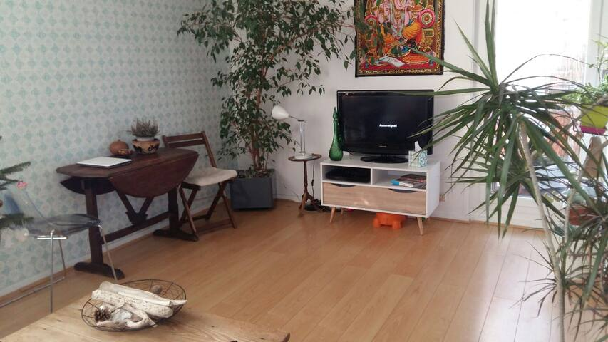 Chambre 10 mn de Paris - Houilles - Apartamento