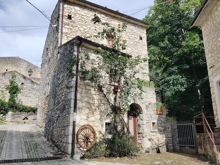 Villetta con giardino a Sant'Eufemia a Maiella
