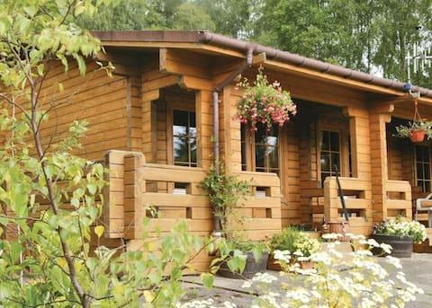 Cosy Rowan (1) woodland lodge by Killin, Loch Tay