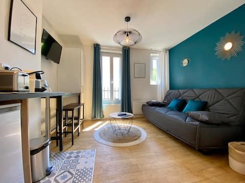 Studio 20m2 all comfort ★ Carcassonne center ★