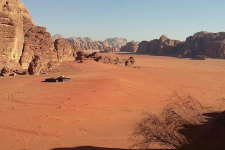 Authentic Bedouin experience - Wadi Rum - Telt