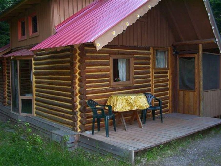 One of our Rustic Cabins