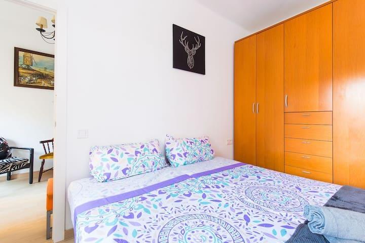 Cozy 2Single Bedroom 3mins to Sagrada Familia