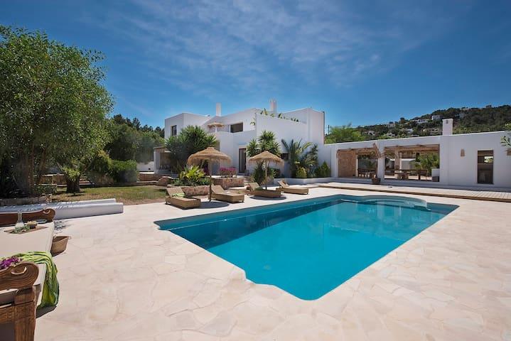 Modern house with Ibiza spirit