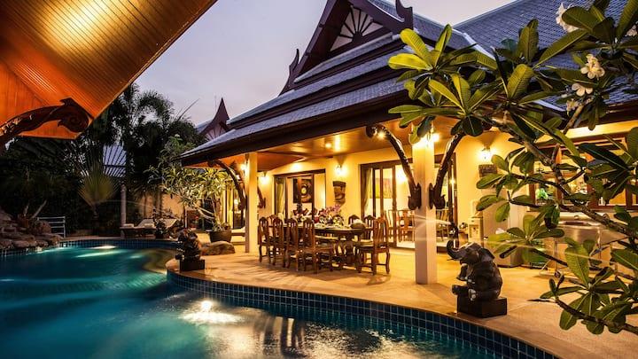Villa Saifon 1 - Pool Villa - 2 Bedrooms 4 Adults