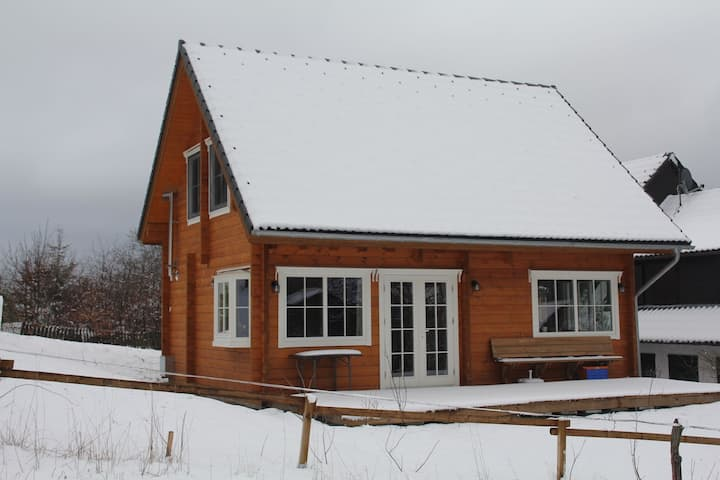 Wooden Holiday Home in Wissinghausen with Private Sauna