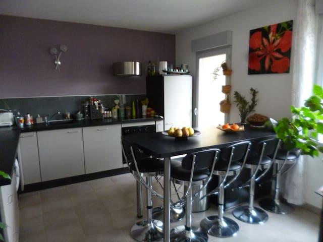 Bel appartement neuf et lumineux - Curis-au-Mont-d'Or - Flat