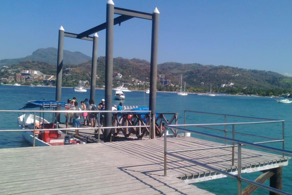 arrival dock