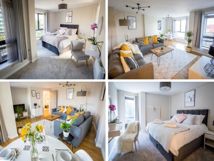 Luxury Quayside Gem ⭐️Free parking ⭐️ River views