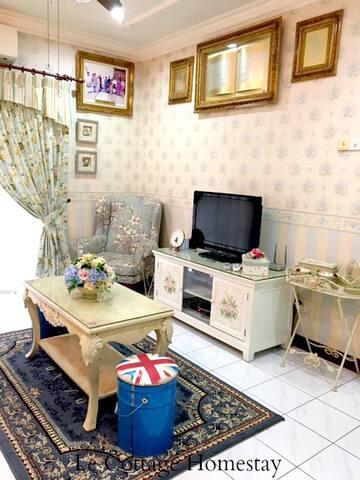 Living Hall (TV, Astro, Wifi)
