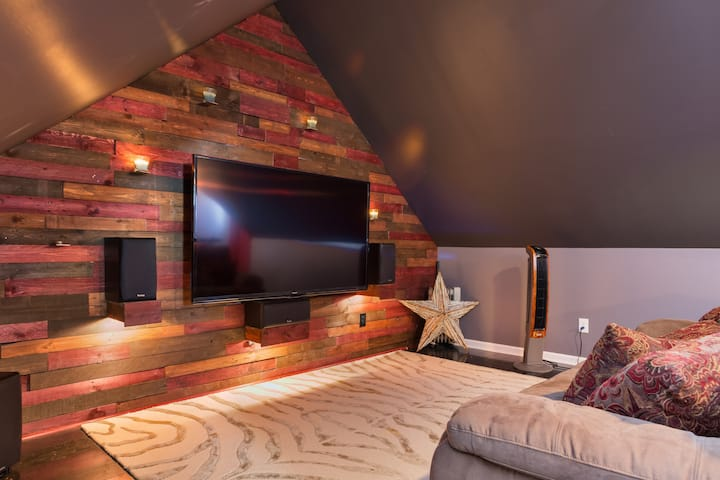 Home Away From Home: Private 2 BR/1BA + Media Room