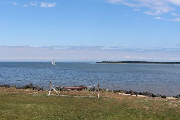 Chalet bord de mer à Caraquet NB /Acadie