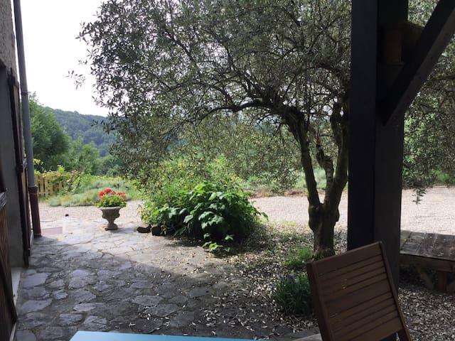 Drôme des collines , propriété face au Vercors