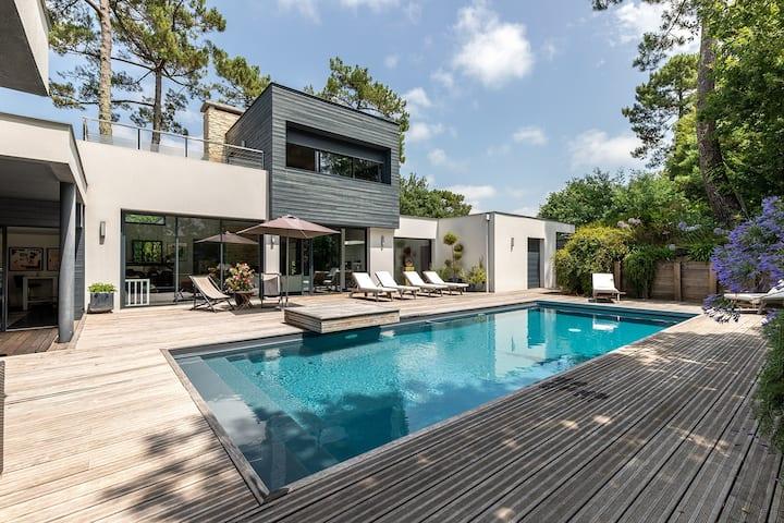 Superbe villa contemporaine au cœur d'Hossegor