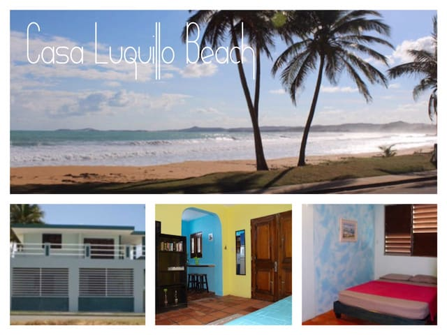 Beachfront-Casa Luquillo Beach AptB - Luquillo