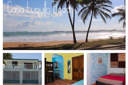 Beachfront-Casa Luquillo Beach AptB - Luquillo - Apartment