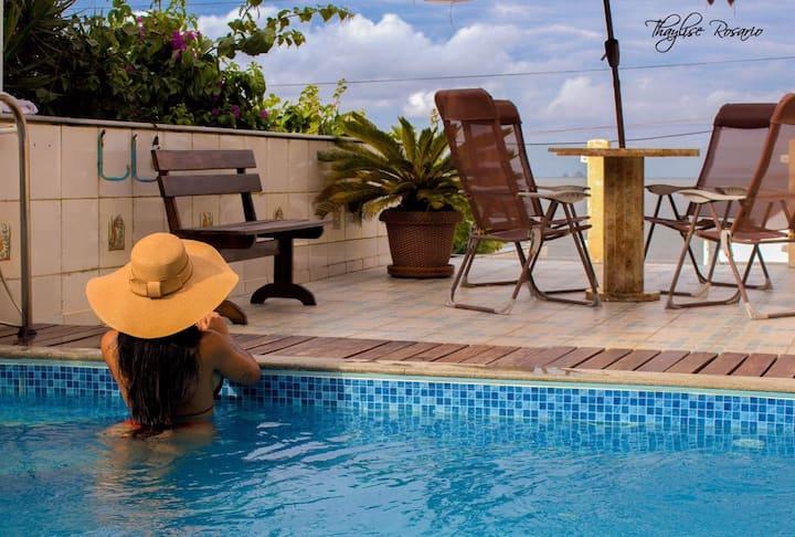 Suíte 03 Beira Mar com Piscina - BetoCarrero World