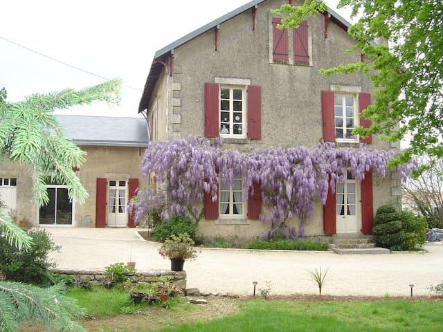 chambres d'hôtes dans un ancien presbytère