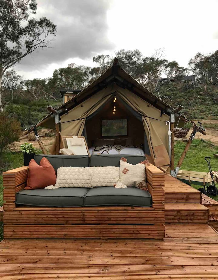 Glamping on the Snowy River, Jindabyne