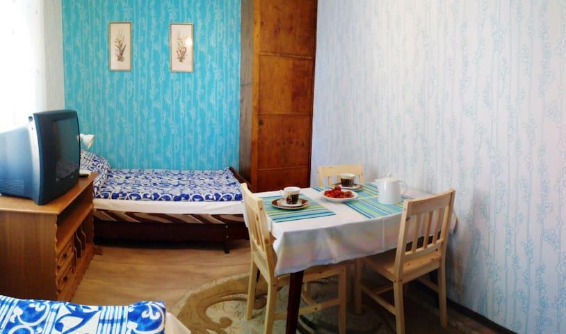 przytulny pokój w Willi Lemoniada - Ustka - Casa de camp