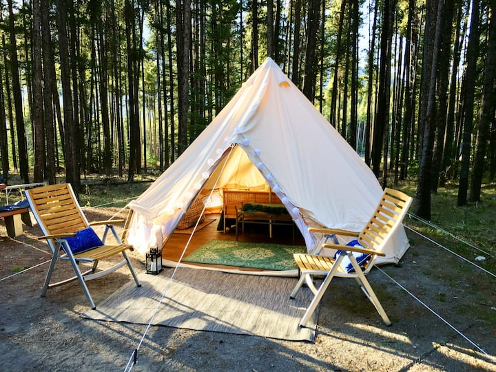 Luxury Tent in Jasper