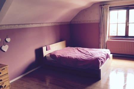 Grande chambre privée à louer dans villa - Zaventem