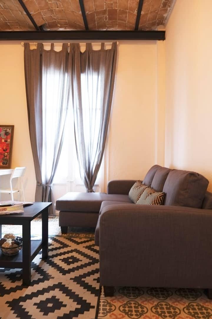 Stylish apartment in Barcelona