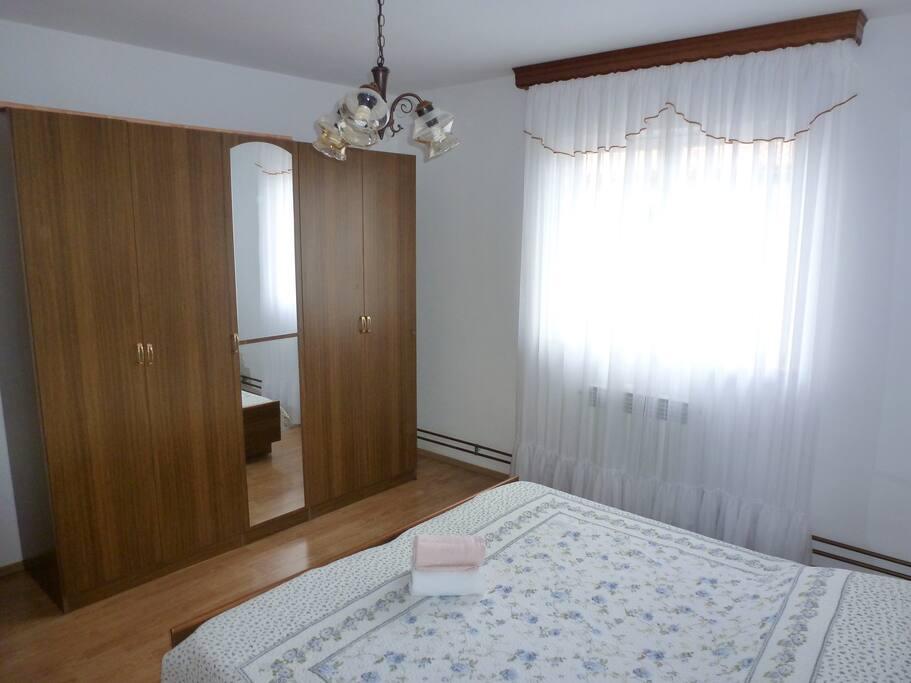 Bedroom no.1 - double bed