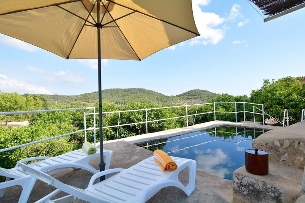 Authentic beautiful Finca for relaxing holidays in Malloca