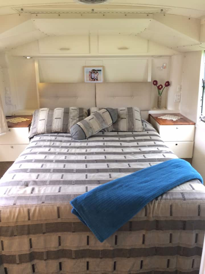 Independent Living in a Unique Motor Home