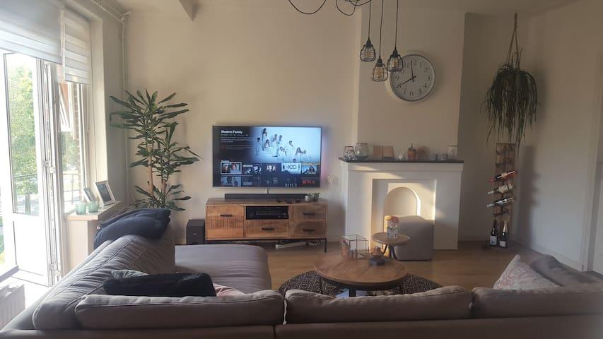 Sfeervol appartement rand centrum Den Bosch