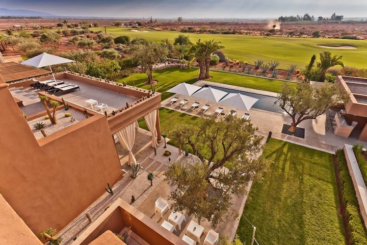 Luxury villa for your vacation in Marrakech welcom
