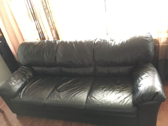 Couch to crash on in Amsterdam-North.