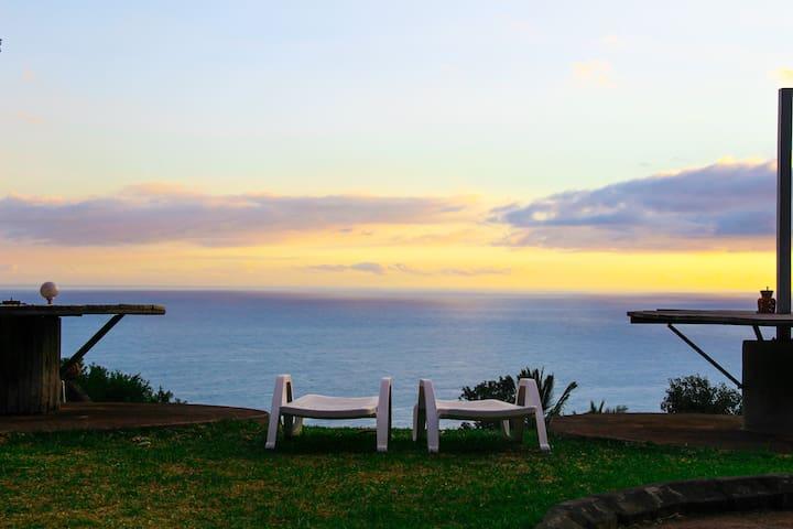 Chambre vue sur l'océan Indien - Piton Saint-Leu - Vendégház