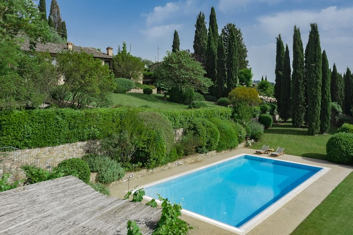 Giada Villa AC-Private Pool-Views-Sauna-7 min town