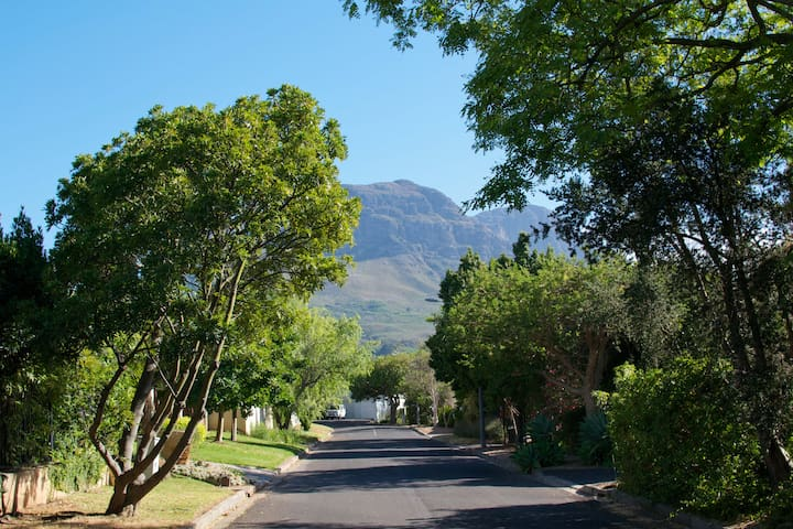 Semi-attached pad in quiet leafy Somerset West - Cape Town - Apartament