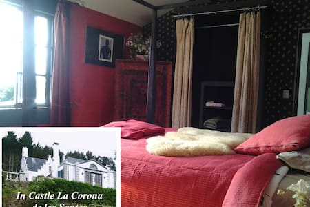 The Ruby Room in Castle La Corona