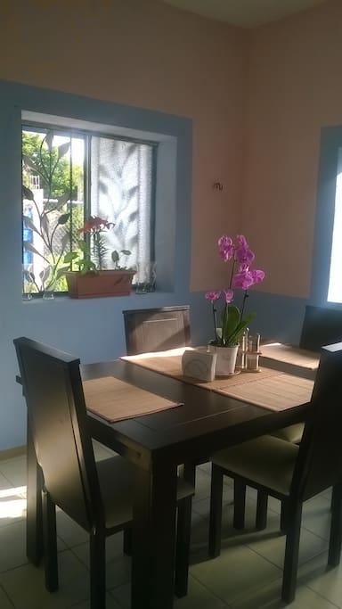 El comedor, amplio y luminoso. ---------------------- The dining room, spacious and bright