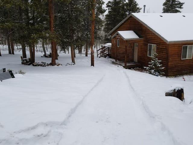 Beautiful Log Cabin-near Mt. Elbert