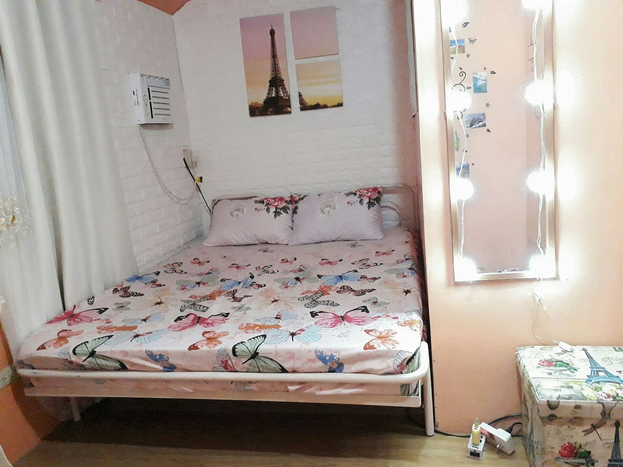 The updated look of this bed