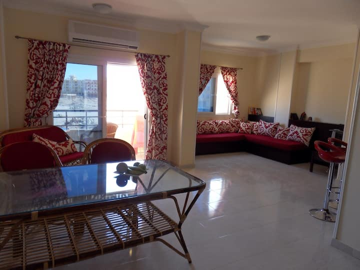 Spacious, well appointed apartment in Hurghada
