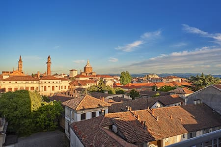 VIEW (from balcony) Over Historic Center of PAVIA - Pavia