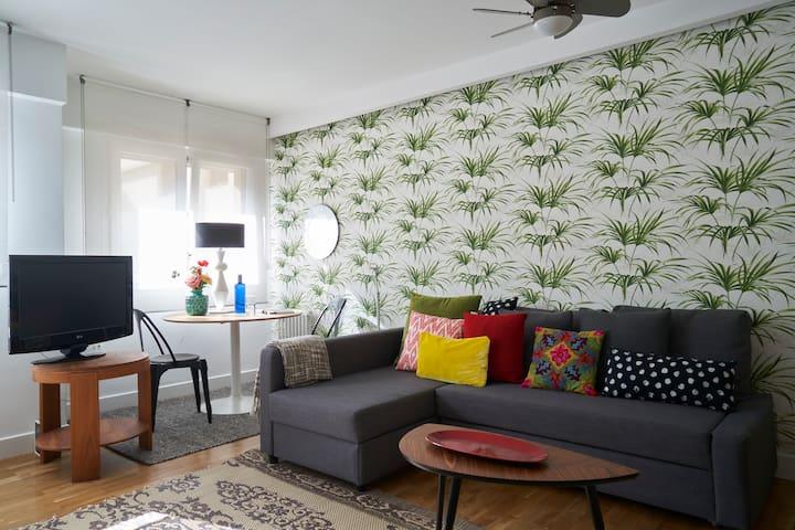 Cosy apartment 100m Zurriola Beach
