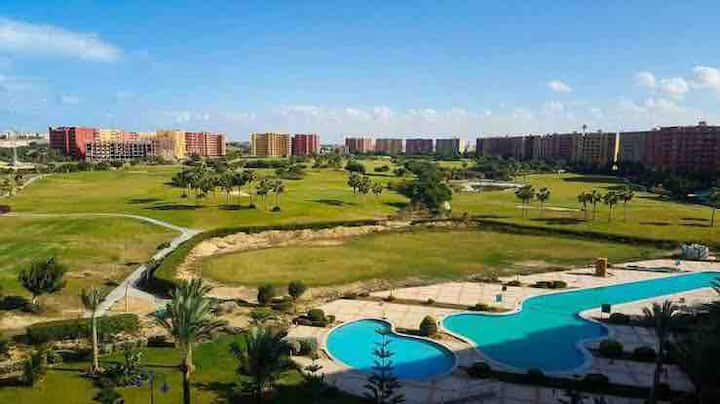 Studio in porto golf marina Resort Egypt