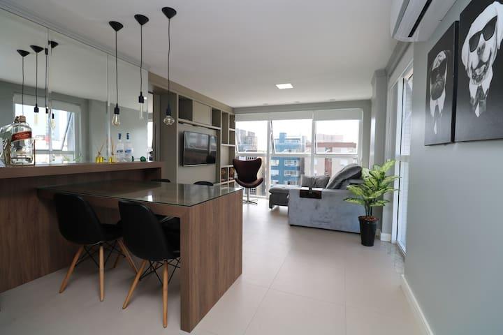 Apartamento na Prainha em Torres - 12º andar.