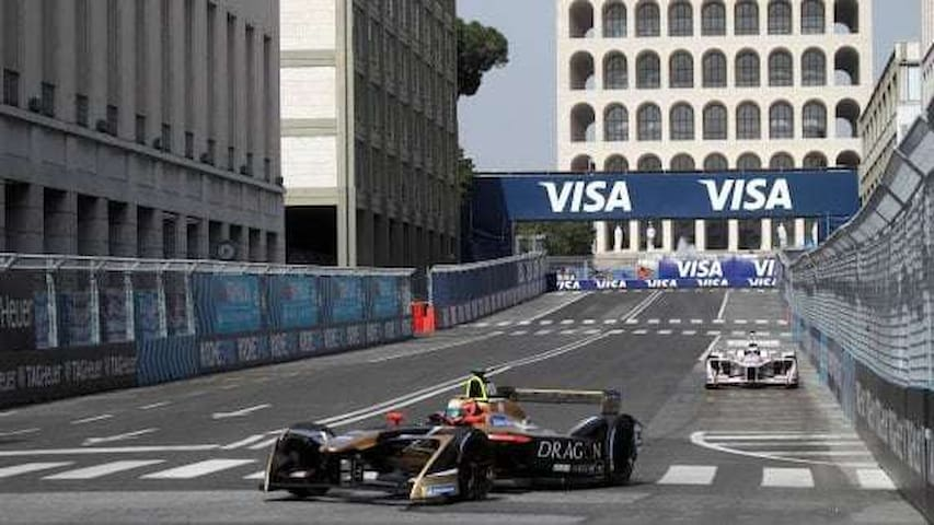 Neighborhood: Formula E - Rome Championship event  10mins walking from home!!
