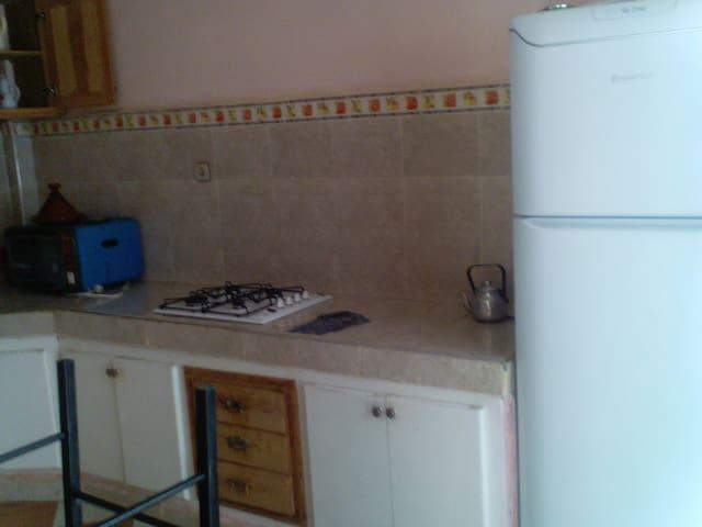 appartement meublée à louer - Sidi Slimane Echcharaa - Apartamento