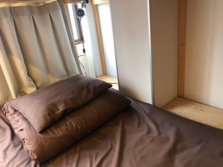 Men and women Dormitory A [Jakotel Namba]