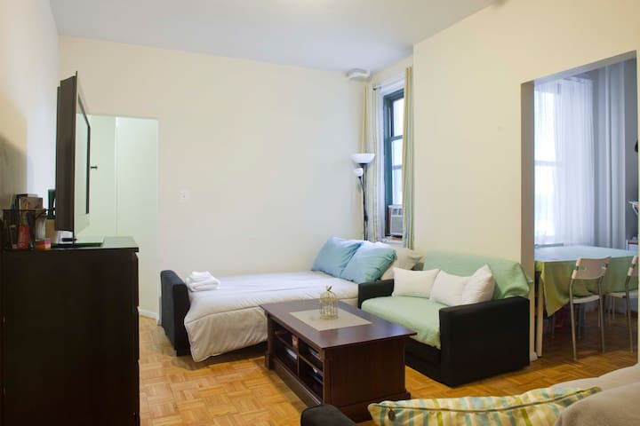 2 comfortable couch beds on the Upper East Side - Нью-Йорк - Квартира