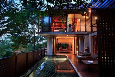 Treetop Duplex Pool Villa - Phuket - Vila